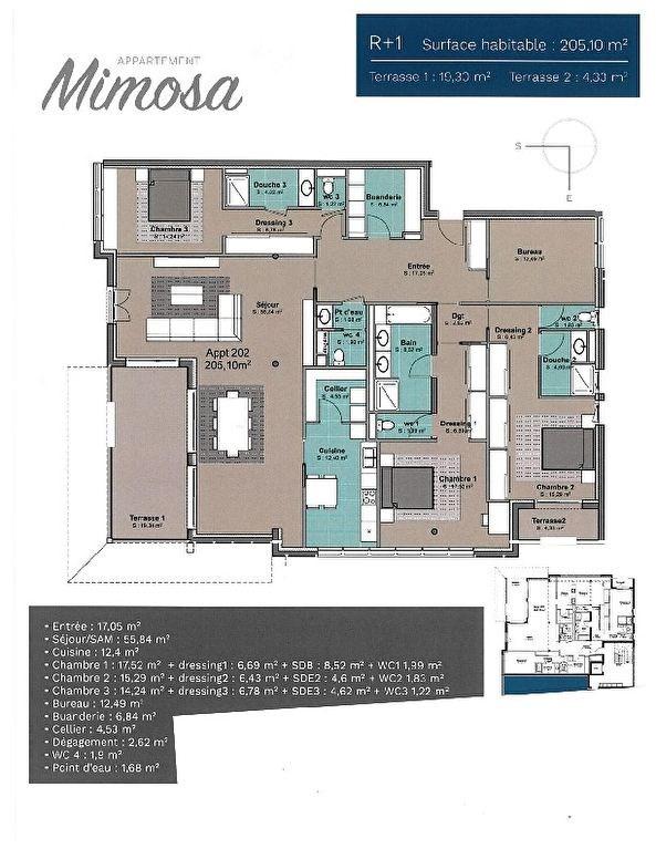 Venta de prestigio  apartamento Hossegor 1640000€ - Fotografía 1