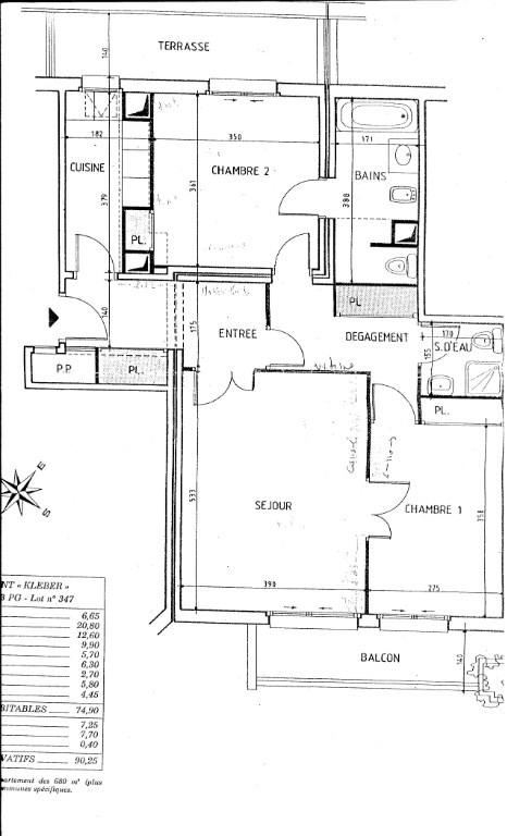 Verkoop  appartement Levallois perret 445000€ - Foto 12