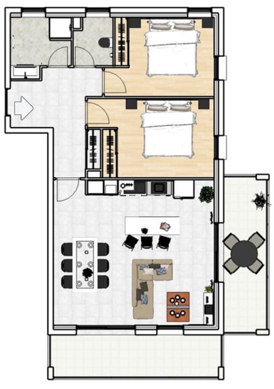 Vente appartement Landerneau 187500€ - Photo 4