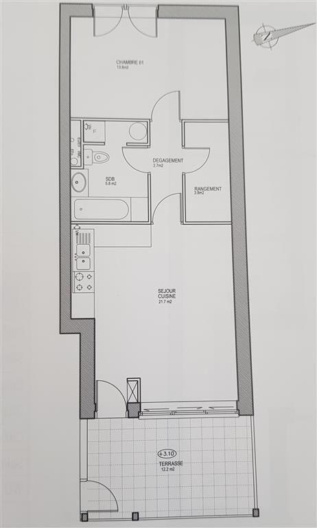 Revenda apartamento Ste genevieve des bois 205965€ - Fotografia 1