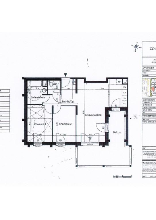 Rental apartment Villeurbanne 840€ CC - Picture 4