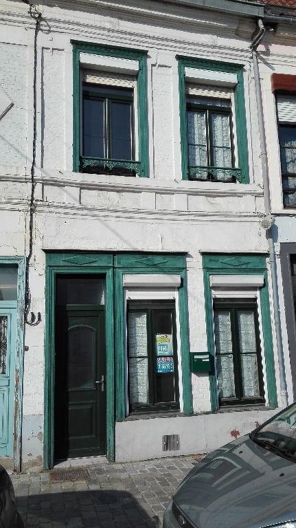 Rental house / villa Aire sur la lys 510€ CC - Picture 1