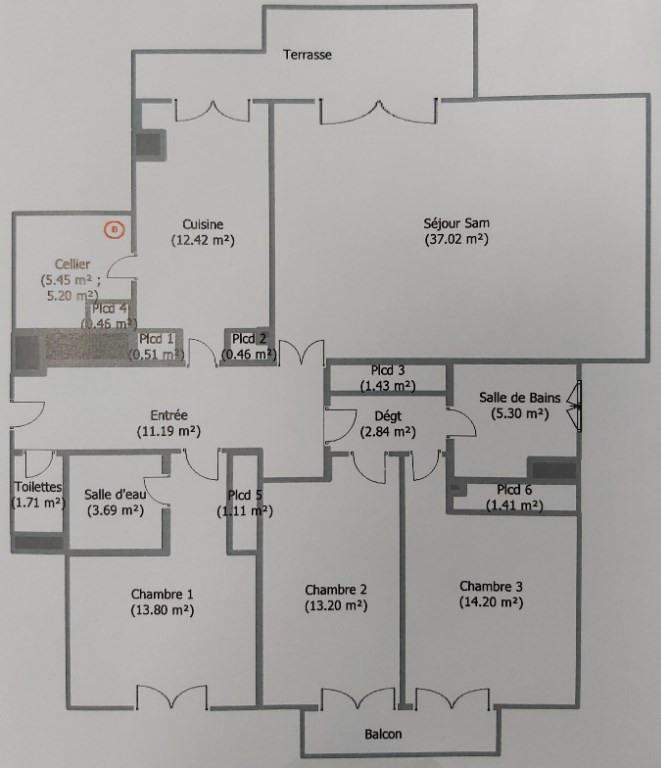 Sale apartment Melun 295750€ - Picture 8
