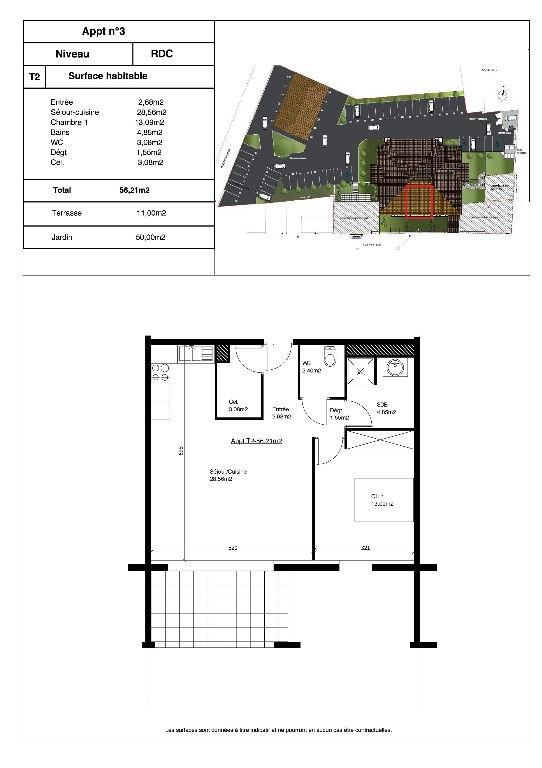 Sale apartment Aire sur l adour 105665€ - Picture 3