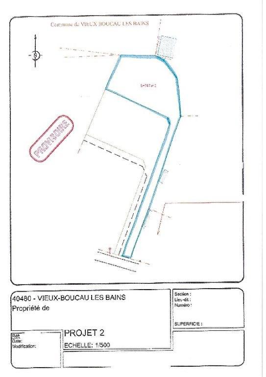Vente terrain Vieux boucau les bains 180000€ - Photo 2