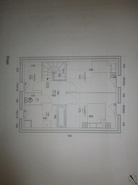 Venta  casa Hanches 203000€ - Fotografía 3