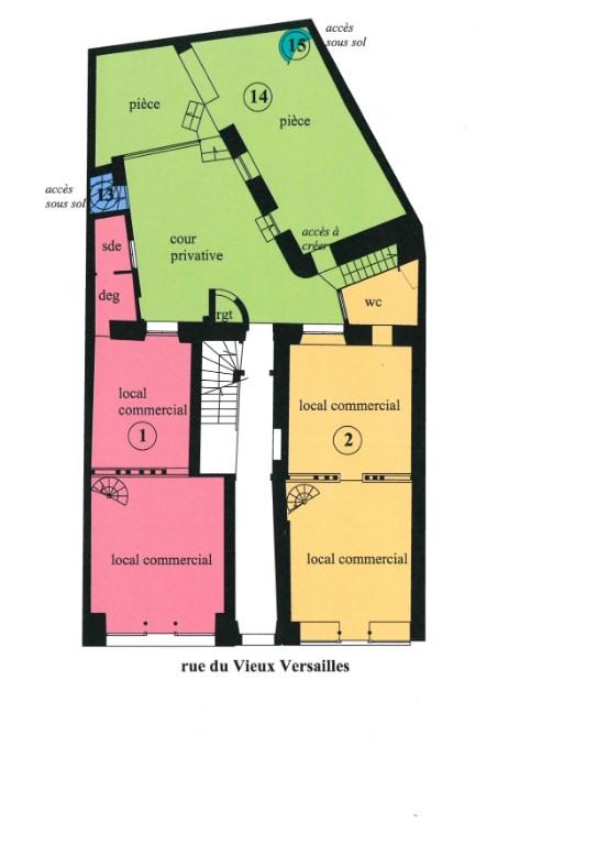 Vente local commercial Versailles 335000€ - Photo 4