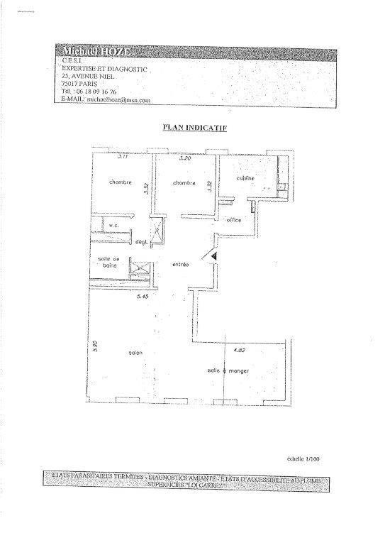 Rental apartment Paris 15ème 3500€ CC - Picture 5