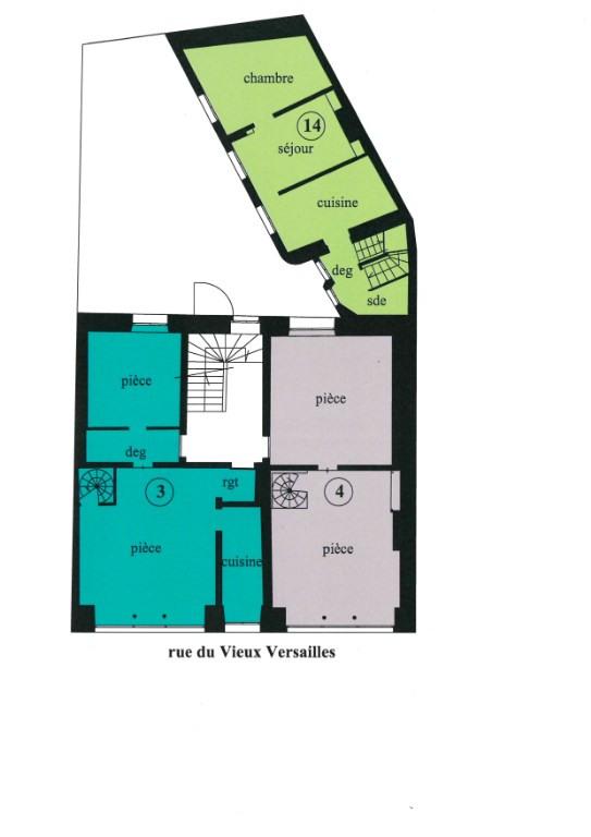 Vente local commercial Versailles 335000€ - Photo 3
