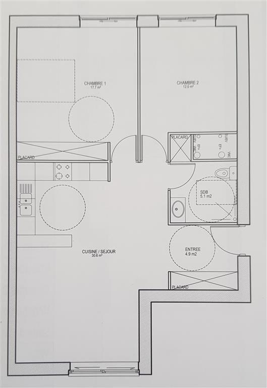 Sale apartment Ste genevieve des bois 289800€ - Picture 1