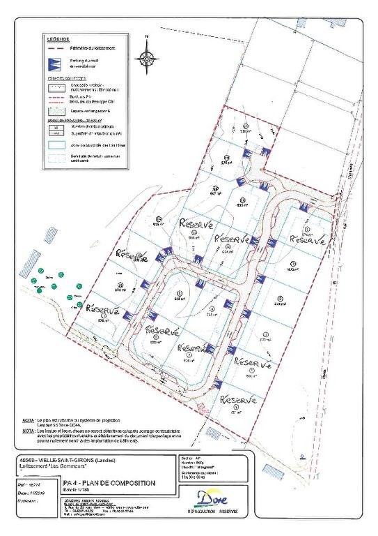 Vente terrain Vielle st girons 76000€ - Photo 1