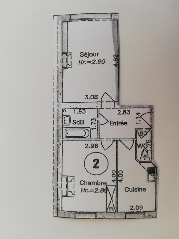 Appartement Paris 2 pièce (s) 41 m²