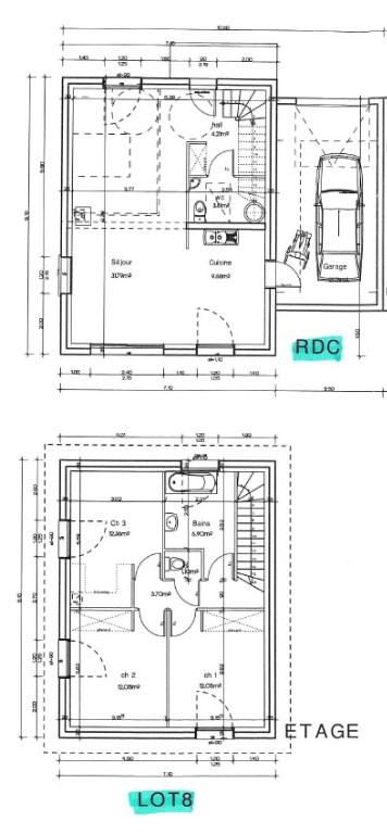 Vente maison / villa Saint jean de bournay 206190€ - Photo 3