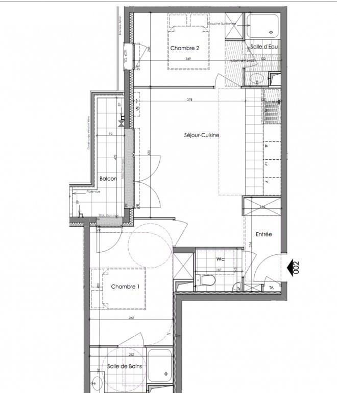 Sale apartment Suresnes 450000€ - Picture 1