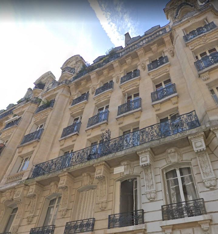 Verkoop  appartement Paris 17ème 115000€ - Foto 1