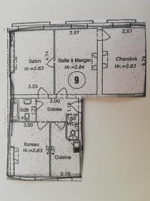 Appartement Paris 3 pièce (s) 70.6 m²