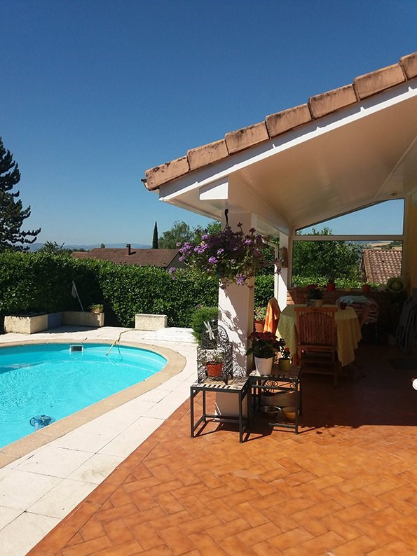 Sale house / villa Reventin vaugris 328000€ - Picture 1