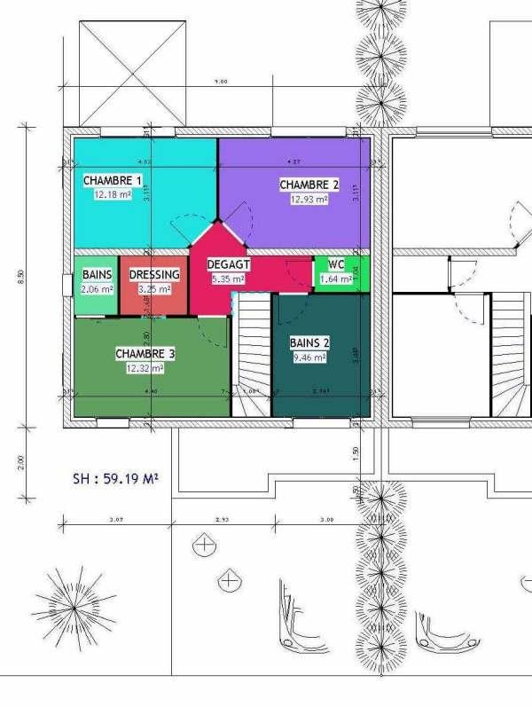 新房出售 计划 Hettange grande  - 照片 3