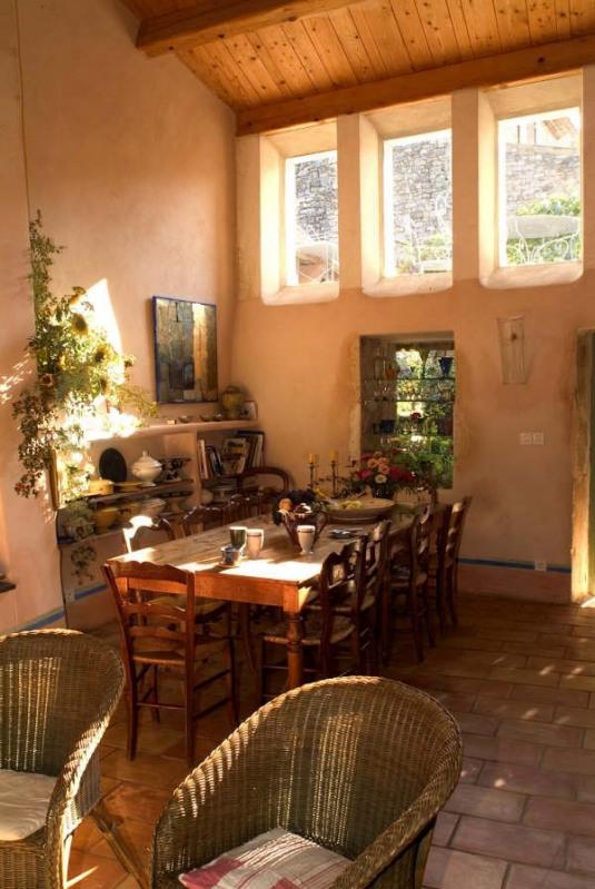Immobile residenziali di prestigio casa Barjac 525000€ - Fotografia 8