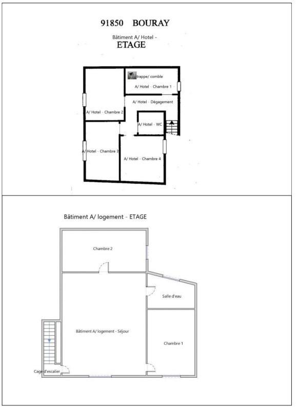 Rental empty room/storage Bouray sur juine 2233€ CC - Picture 3