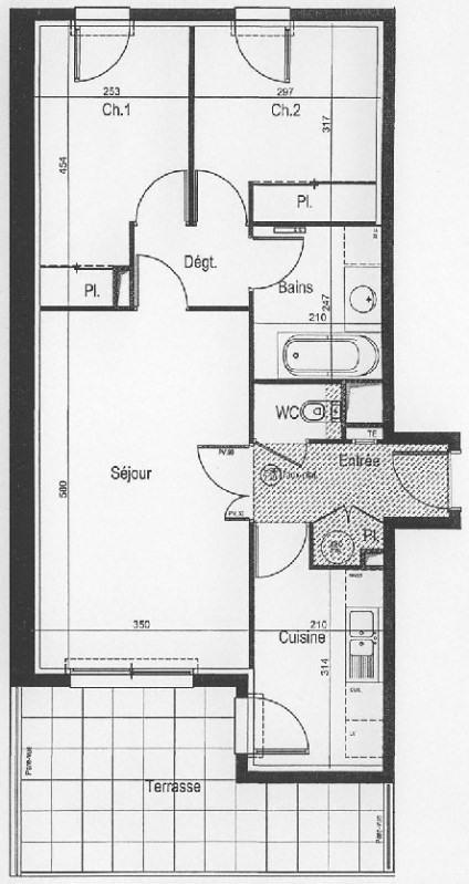 Location appartement Carquefou 675€ CC - Photo 9