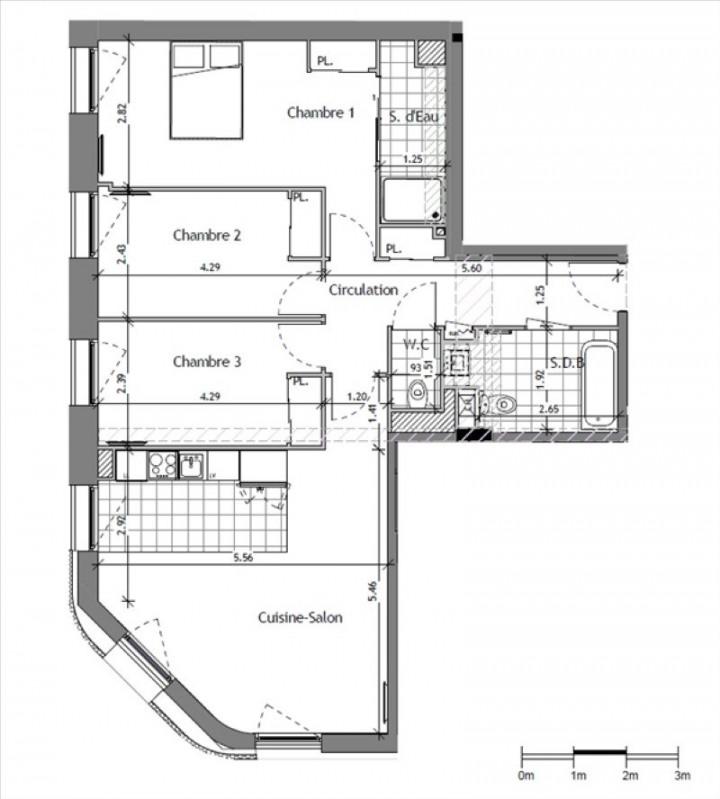 Vente appartement Suresnes 610000€ - Photo 1