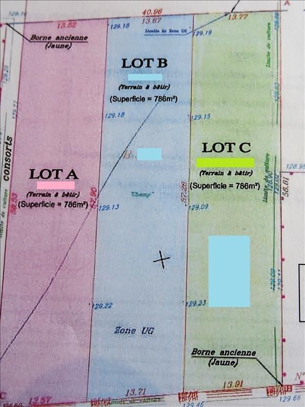 Vendita terreno Breval 5 mn 93000€ - Fotografia 3