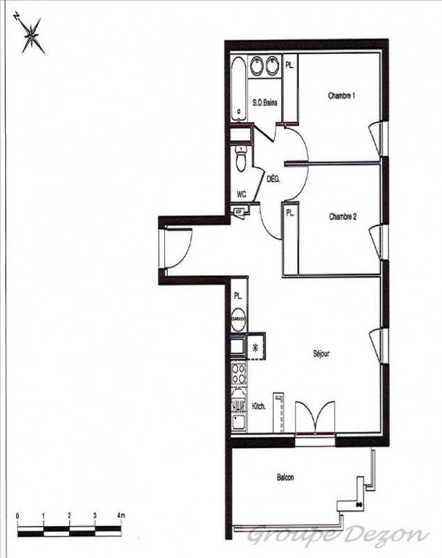 Vente appartement Castelnau d'estretefonds 139000€ - Photo 2