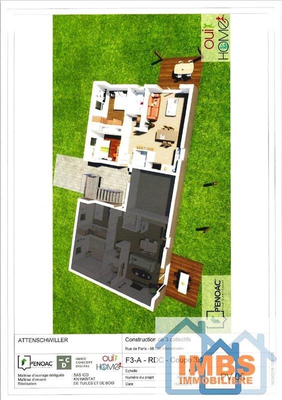Venta  apartamento Attenschwiller 298970€ - Fotografía 2