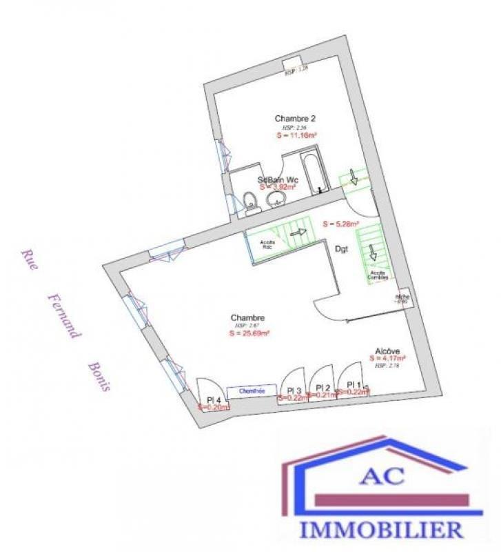 Vente immeuble Andrezieux boutheon 90000€ - Photo 3
