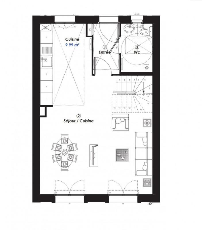 Vente maison / villa Montgeron 355000€ - Photo 1