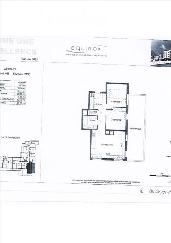 Rental apartment Caluire et cuire 800€ CC - Picture 3
