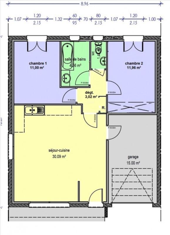 Sale house / villa Claira 176400€ - Picture 2