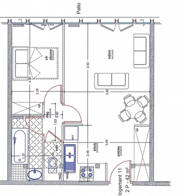 Revenda apartamento Paris 15ème 435000€ - Fotografia 2