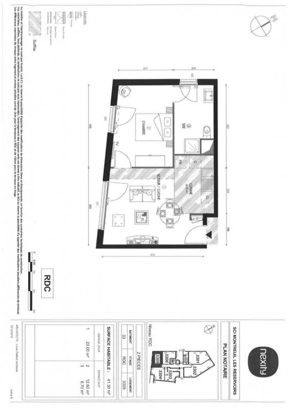 Rental apartment Montreuil 850€ CC - Picture 3