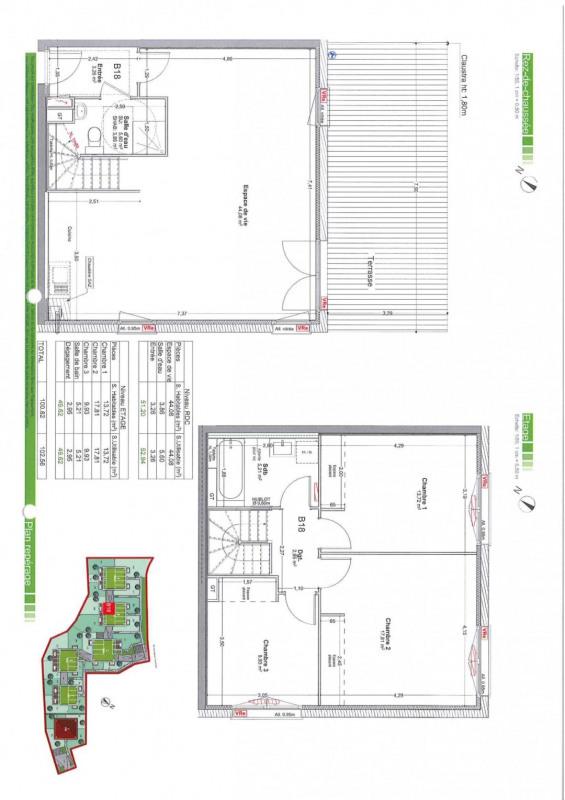 Vente appartement Gaillard 493000€ - Photo 2