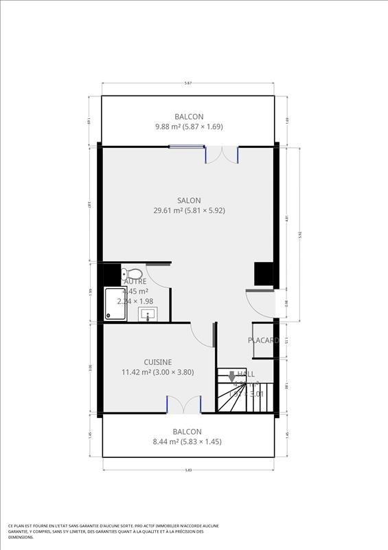 Sale apartment Grenoble 173000€ - Picture 7
