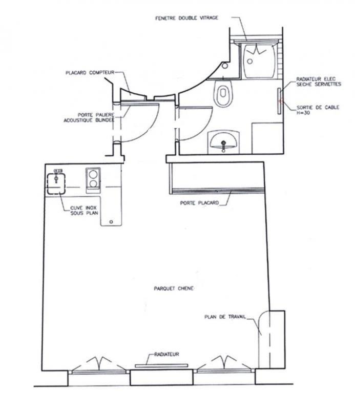 Sale apartment Paris 3ème 315000€ - Picture 5