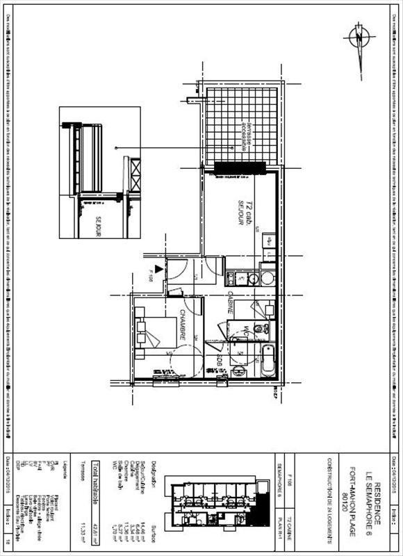 Vente appartement Fort mahon plage 161000€ - Photo 4