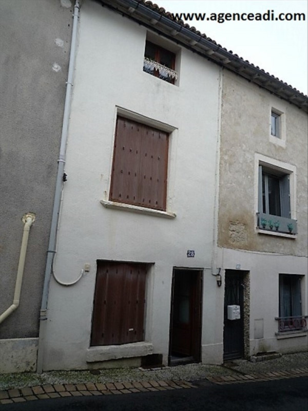 Vente maison / villa St maixent l ecole 54000€ - Photo 1