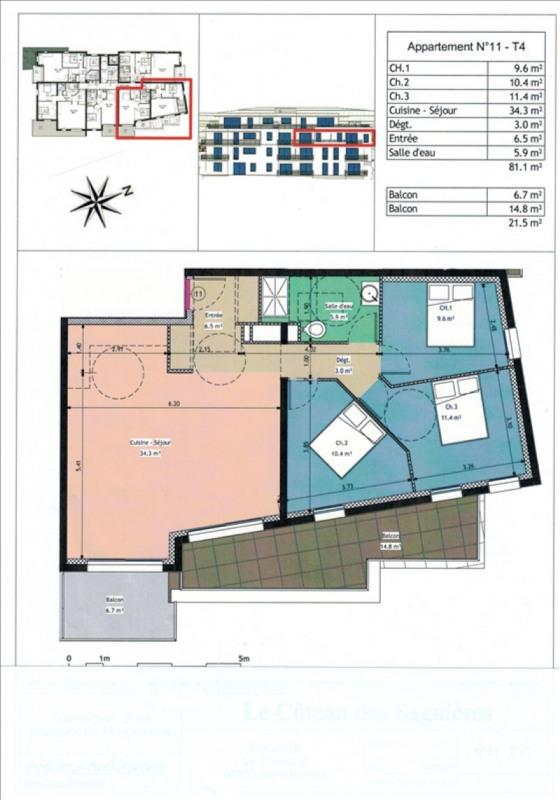Sale apartment Gap 265000€ - Picture 2