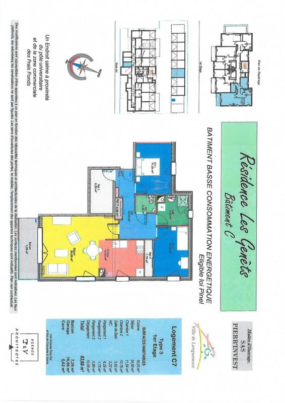 Vente appartement Longuenesse 267000€ - Photo 2