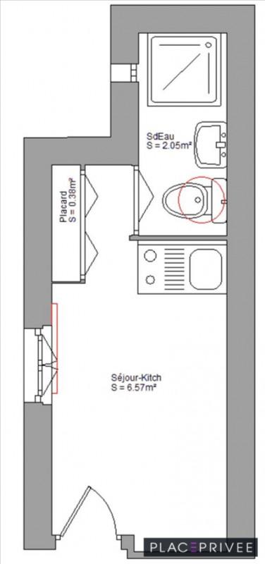 Rental apartment Nancy 295€ CC - Picture 1