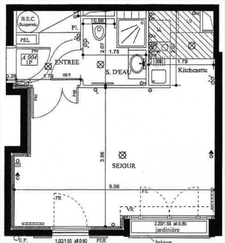 Vente appartement Garches 209000€ - Photo 8