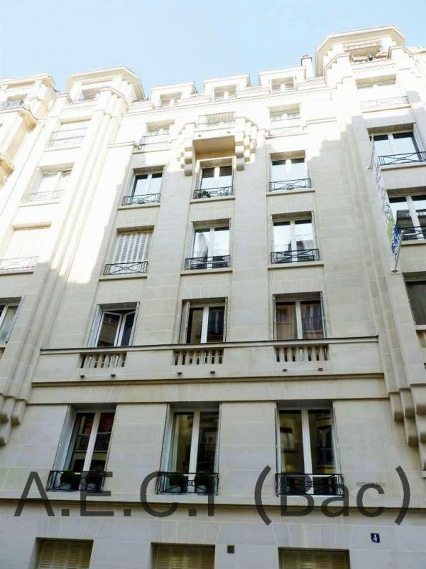 Rental apartment Paris 17ème 1070€ CC - Picture 1