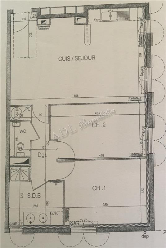 Sale apartment Gouvieux 252000€ - Picture 6