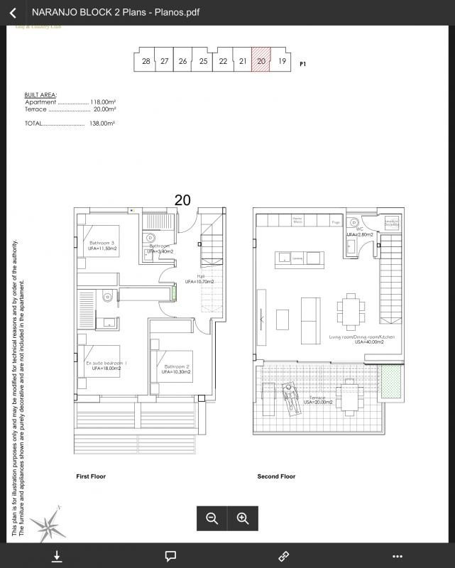 Deluxe sale apartment Las colinas golf orihuela 356000€ - Picture 9