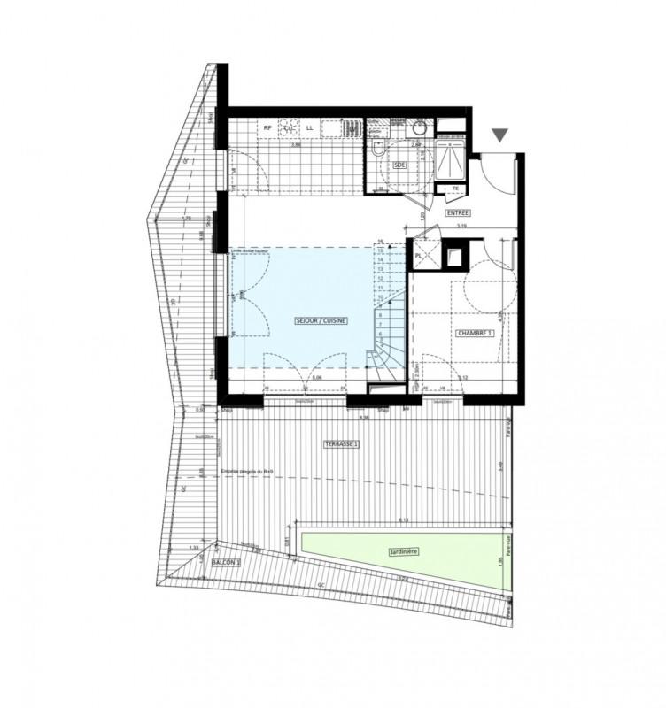 Vente de prestige appartement Issy-les-moulineaux 1145000€ - Photo 1