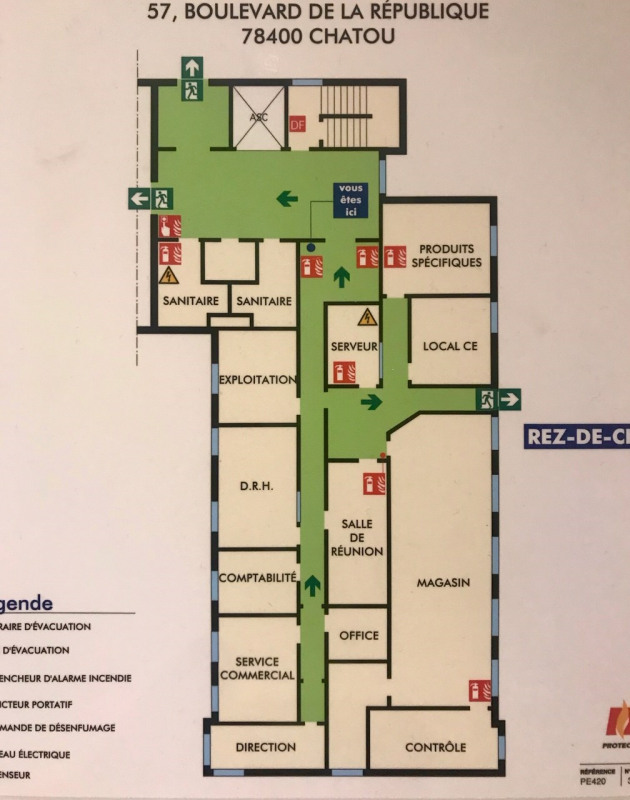 Sale office Chatou 400000€ HT - Picture 3