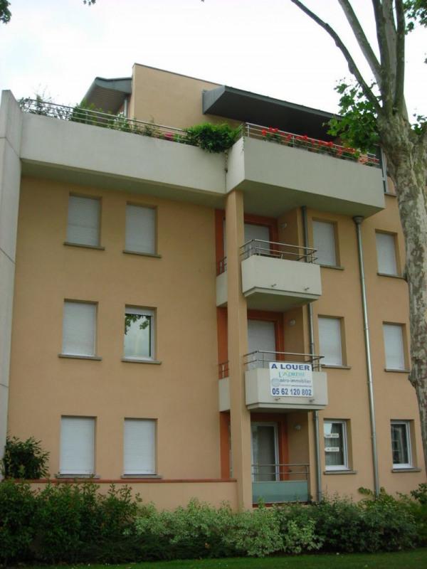 Rental apartment Colomiers 570€ CC - Picture 1